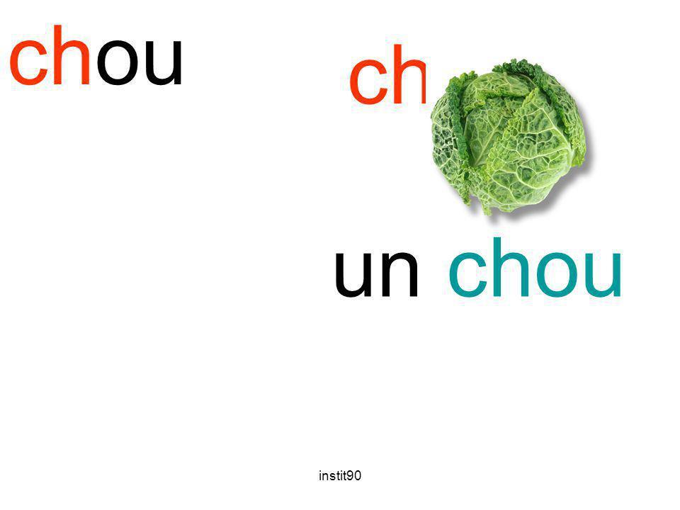 instit90 chou un chou