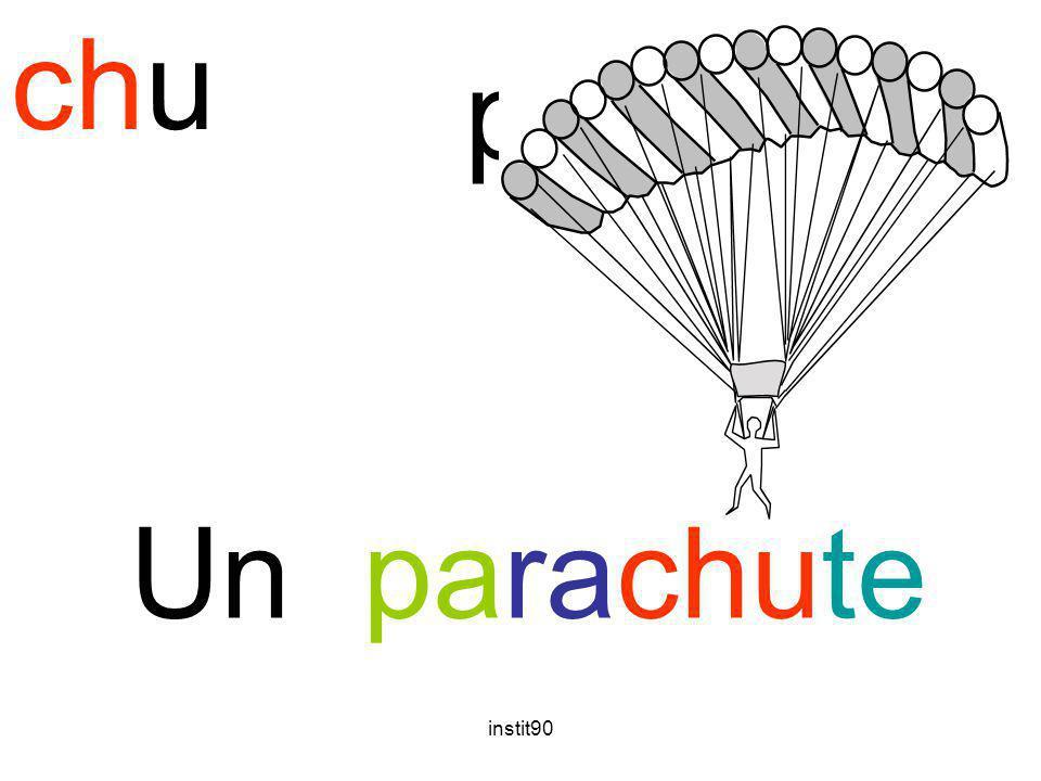 instit90 chu parachute Un parachute