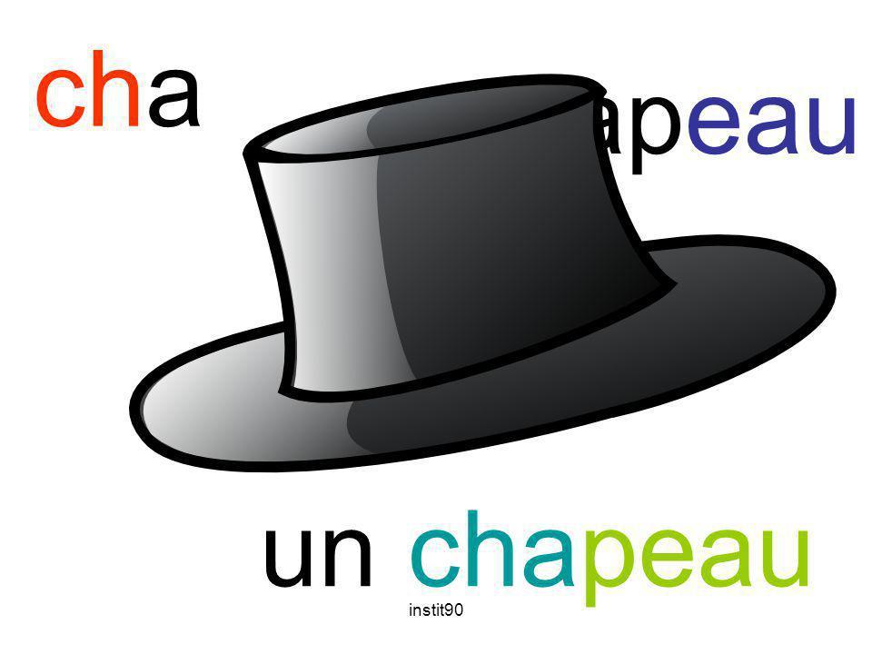 instit90 cha chapeau un chapeau