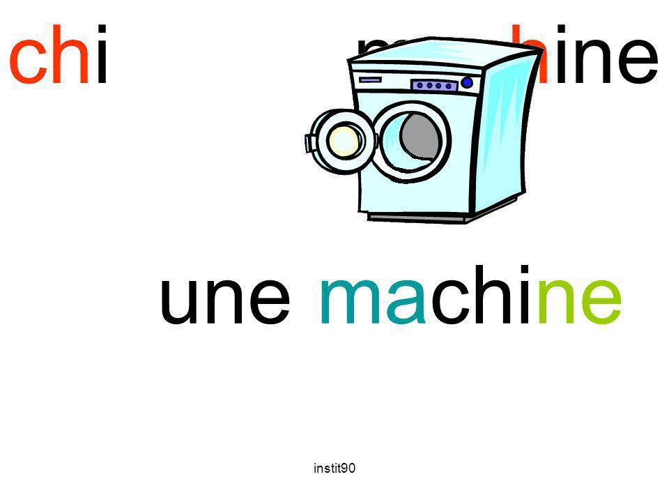 instit90 chimachine une machine