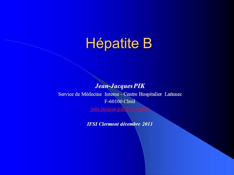 Le virus de l'hépatite B  Hepadnaviridae (virus à ADN)  Antigène Hbs: antigène d'enveloppe  Antigènes Hbc et Hbe: antigènes de capside  Transmission parentérale (risque 30%)  Transmission sexuelle  Transmission mère-enfant