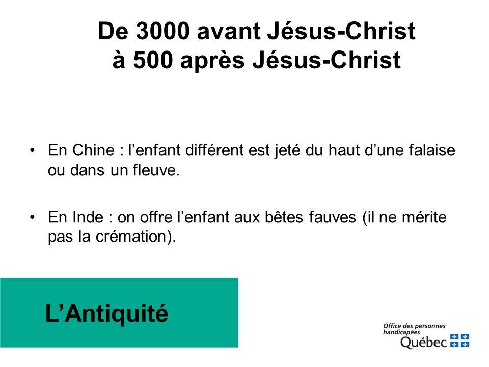 Chute de Rome et progression du christianisme Ces conjonctures historiques ont-elles eu un impact positif ou négatif sur les attitudes par rapport à la différence.