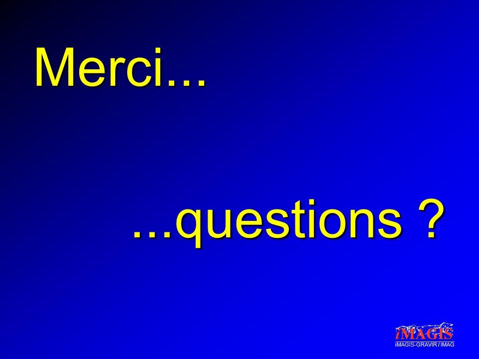 iMAGIS-GRAVIR / IMAG Merci......questions