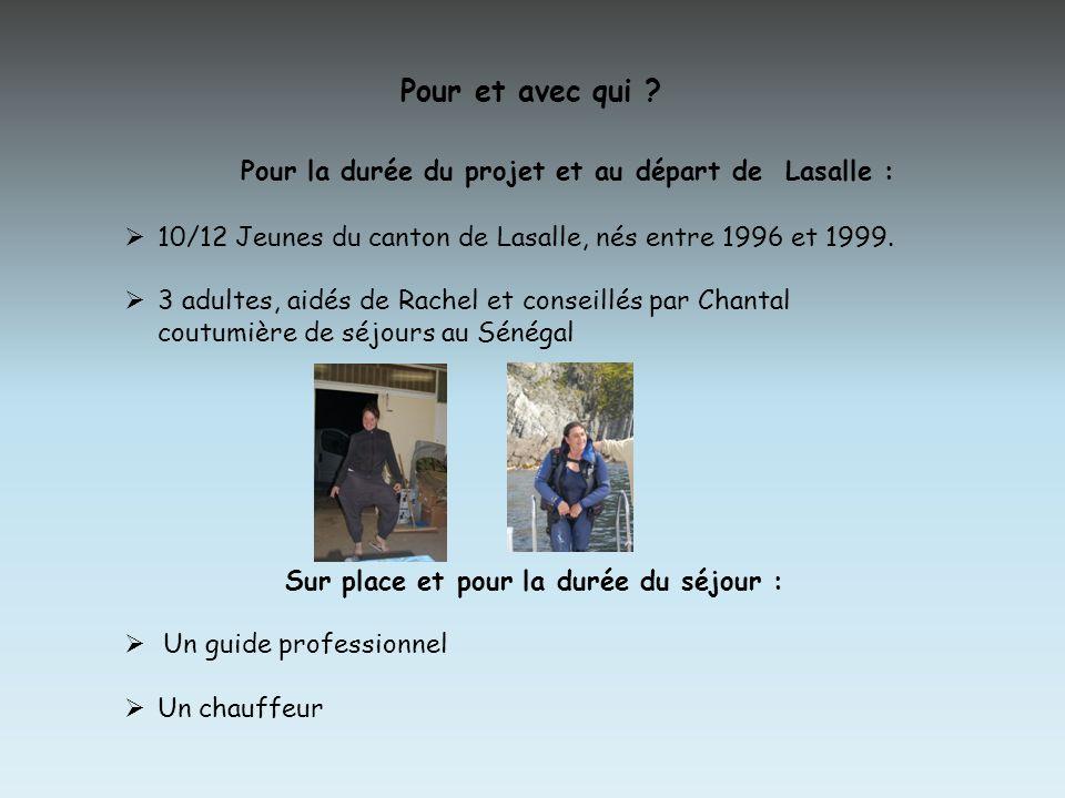 Quand La préparation : De janvier à octobre 2012 Le voyage : 8 jours en octobre 2012