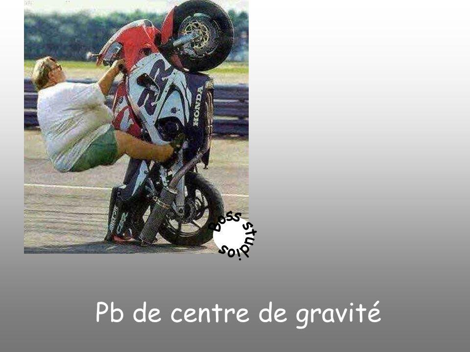 Pb de centre de gravité