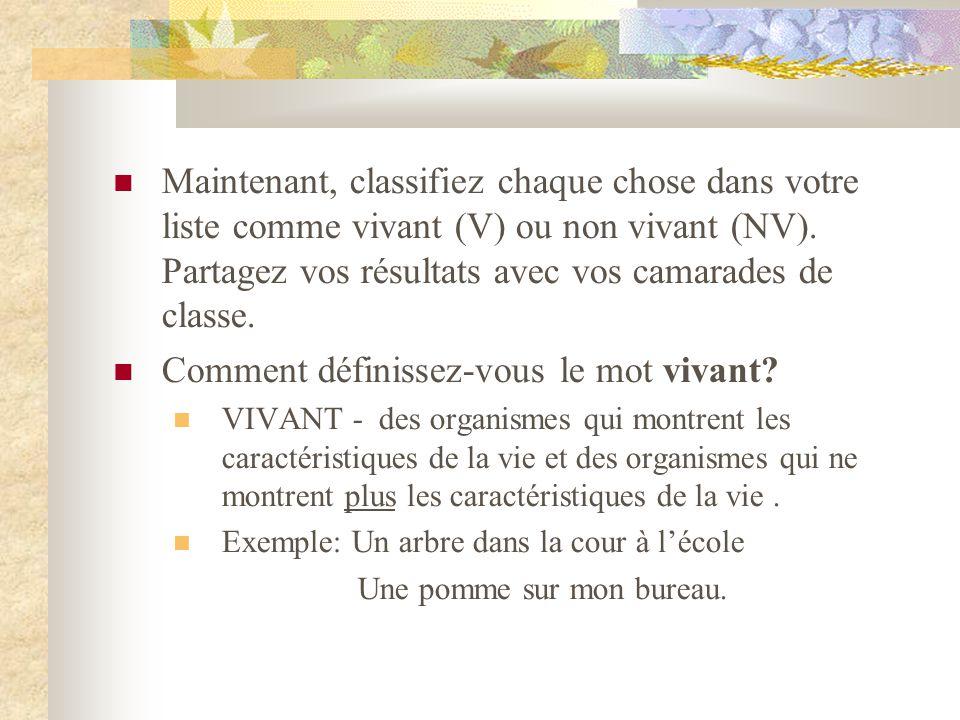 1.1: Les types d écosystèmes  Vérifiez votre lecture à la page 9.