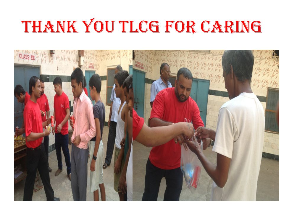 THANK YOU TLCG FOR CARING