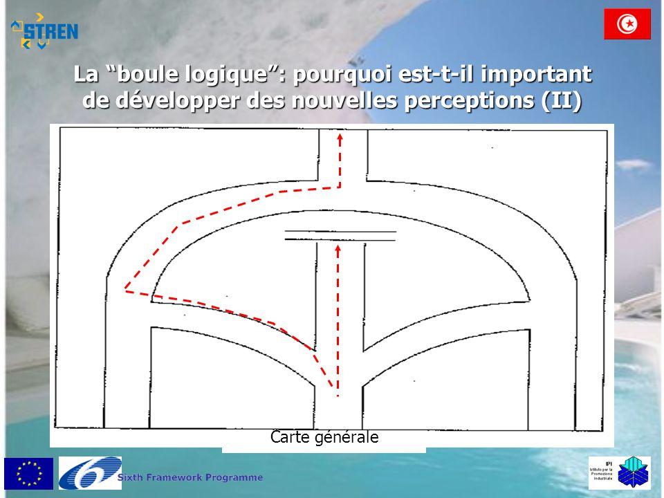 """La """"boule logique"""": pourquoi est-t-il important de développer des nouvelles perceptions (II) Carte générale"""