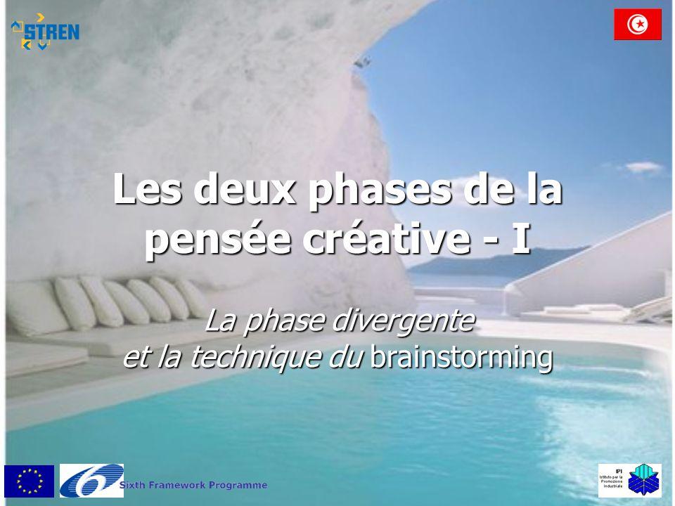 Les deux phases de la pensée créative - I La phase divergente et la technique du brainstorming