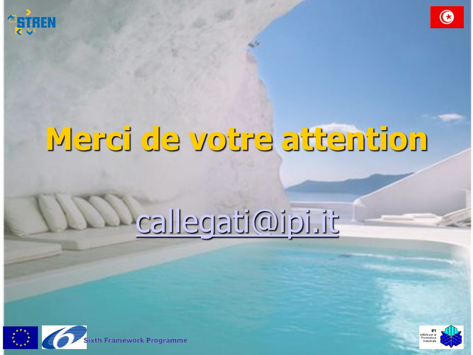 Merci de votre attention callegati@ipi.it