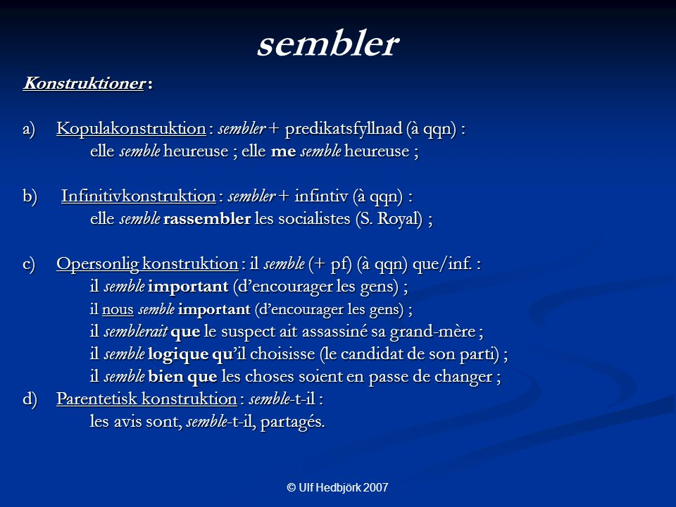 C. FORSKNINGSFRÅGOR 1. Syntax 2. Semantik-pragmatik 3. Frågor?