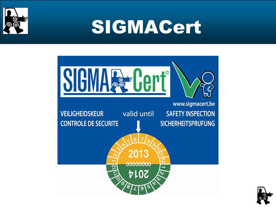 SIGMACert ® Empowered by M Φ BILCert CVBA SCRL