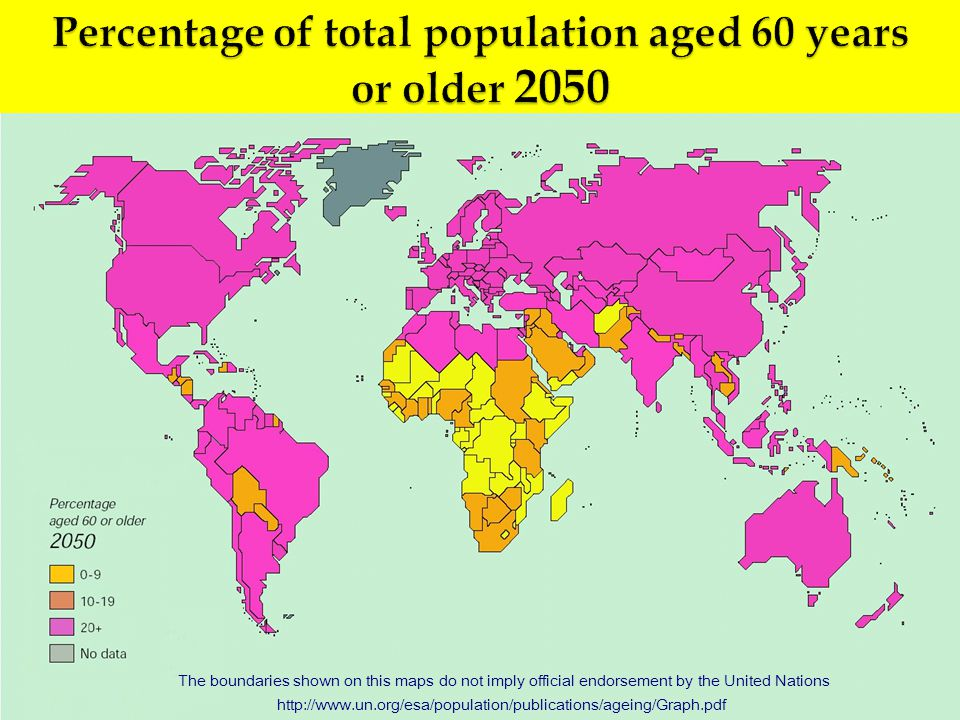 The boundaries shown on this maps do not imply official endorsement by the United Nations http://www.un.org/esa/population/publications/ageing/Graph.pdf