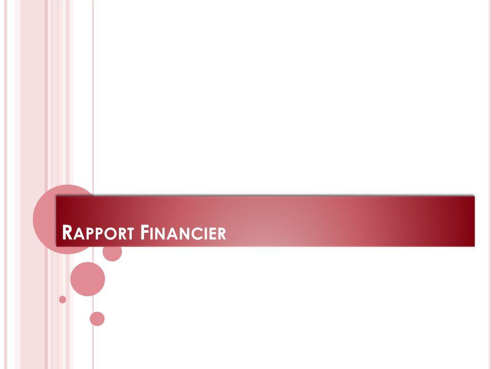 R APPORT F INANCIER