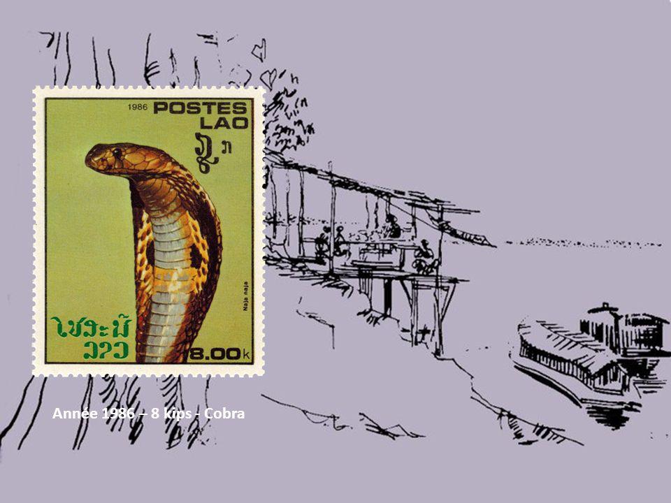 Année 1986 – 8 kips - Cobra