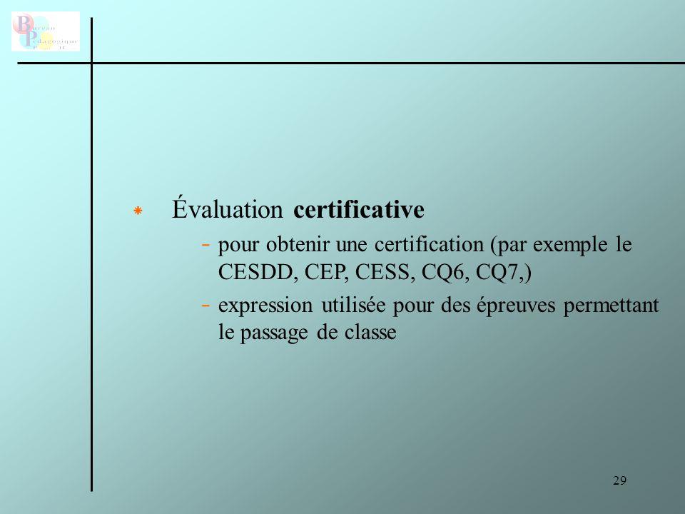 30 * Grille d'évaluation critériée - un critère = qualité attendue du travail.