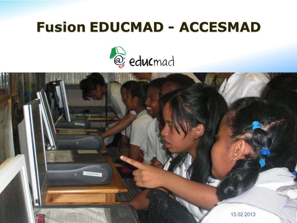 Fusion EDUCMAD - ACCESMAD 15 02 2013