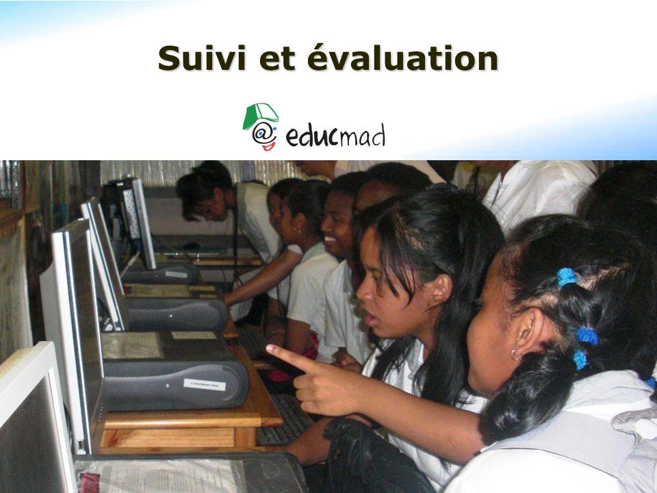Suivi et évaluation