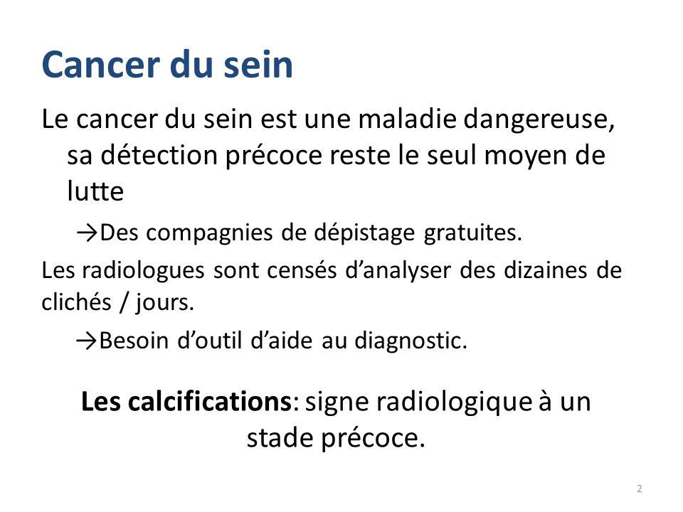 Cancer du sein 28.3 % 21.6 % Les cancers les plus fréquents chez la femme en Algérie (OMS). 3