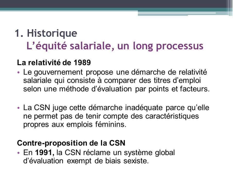 Depuis l'automne 2010, plusieurs rencontres des fédérations CSN concernées se sont tenues.