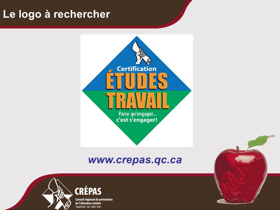 Le logo à rechercher www.crepas.qc.ca