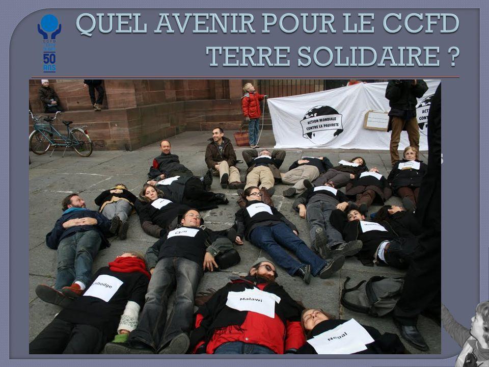  Evolution de la pensée sur le développement  A la recherche d'un second souffle dans le mouvement altermondialiste  Evolution des ONG Françaises  Les nouvelles formes de militance Militant plus par l'action que par l'adhésion Immédiateté Efficacité Radicalité : spectaculaire, coup de poing …