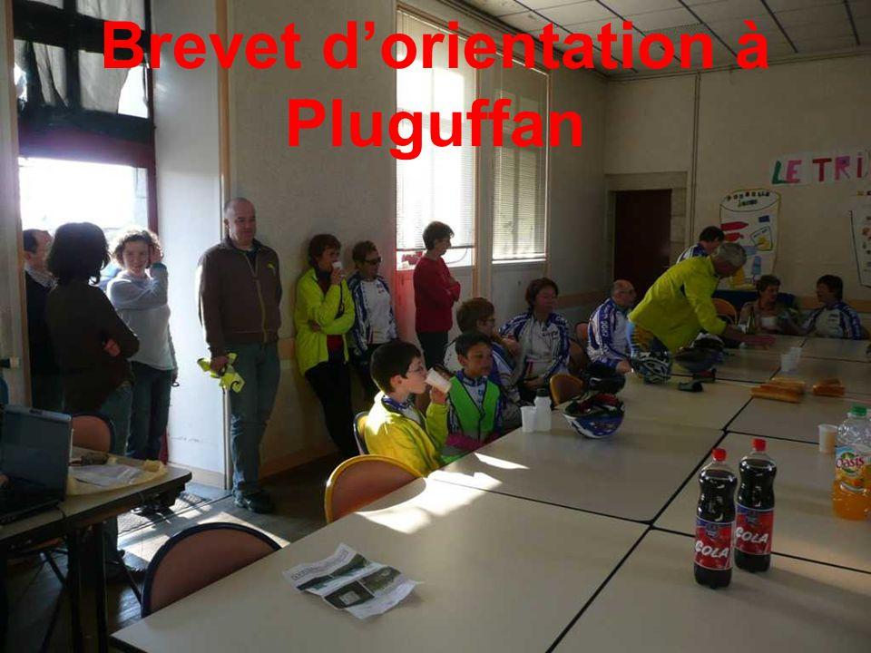 Brevet d'orientation à Pluguffan