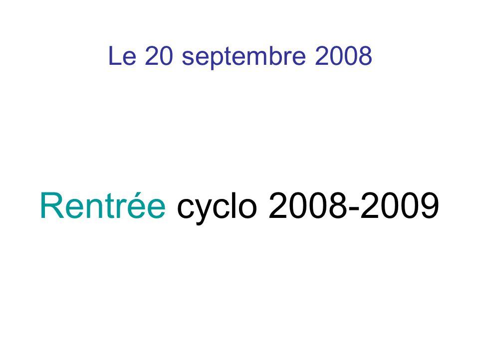 L'équipe 2009-2010 Merci de votre attention