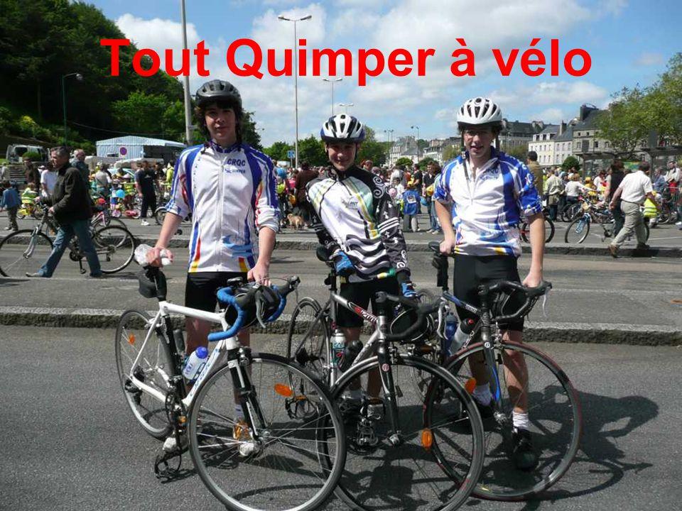 Tout Quimper à vélo