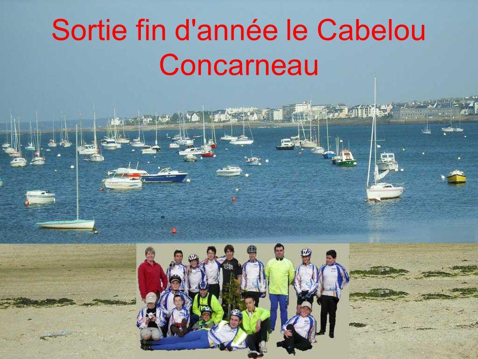 Sortie fin d année le Cabelou Concarneau