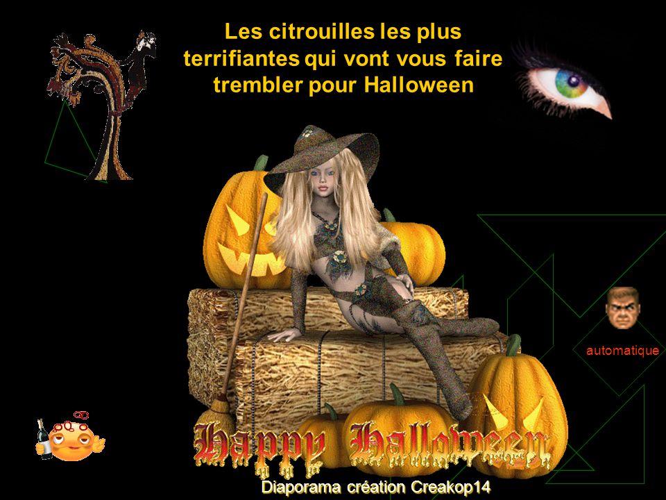 Diaporama création Creakop14 automatique Les citrouilles les plus terrifiantes qui vont vous faire trembler pour Halloween