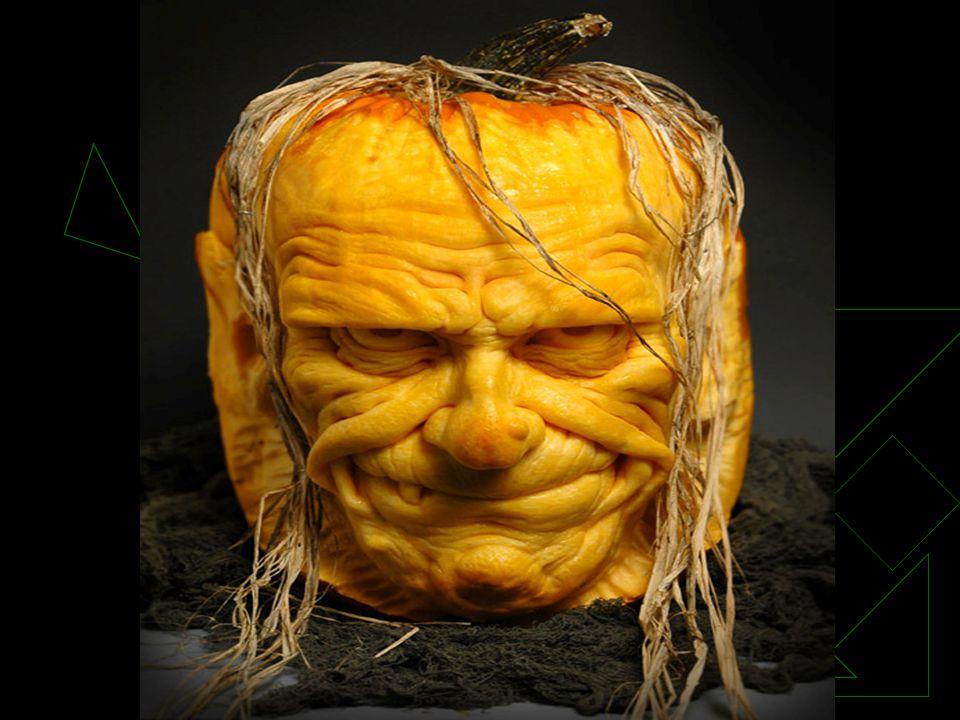  Ray Villafane est un professeur d art américain, Ray Villafane  qui a pour passion la sculpture de citrouilles.