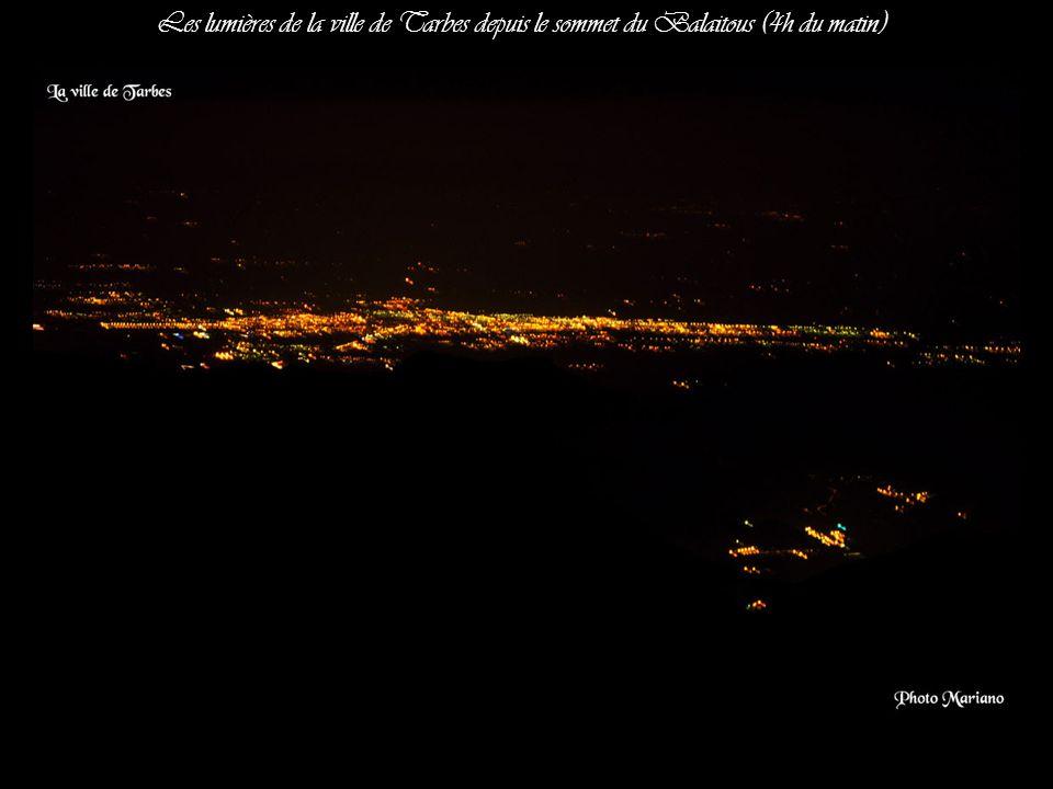 ... Nuit étoilée au sommet du balaitous 3144m