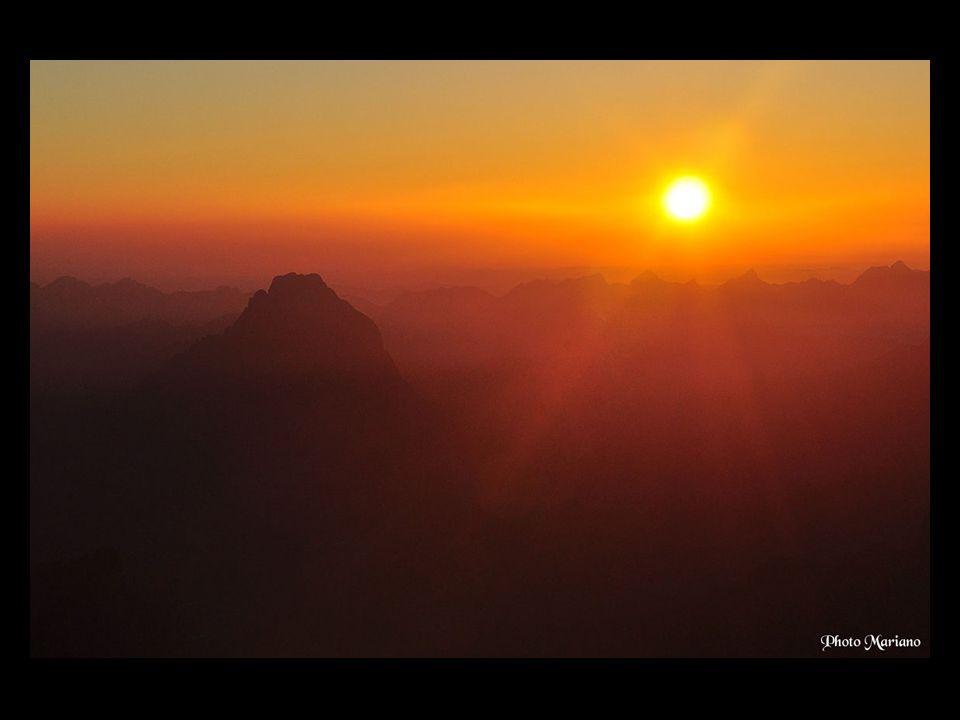 ... Les couchers et levers de soleil sont toujours des instants magiques !.