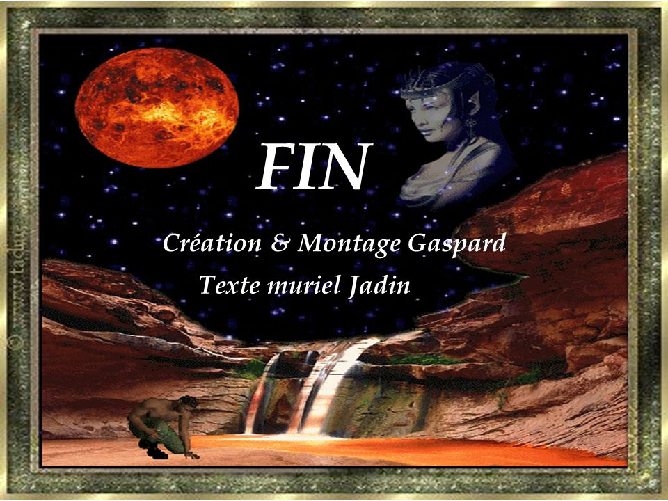 FIN Création & Montage Gaspard Texte muriel Jadin