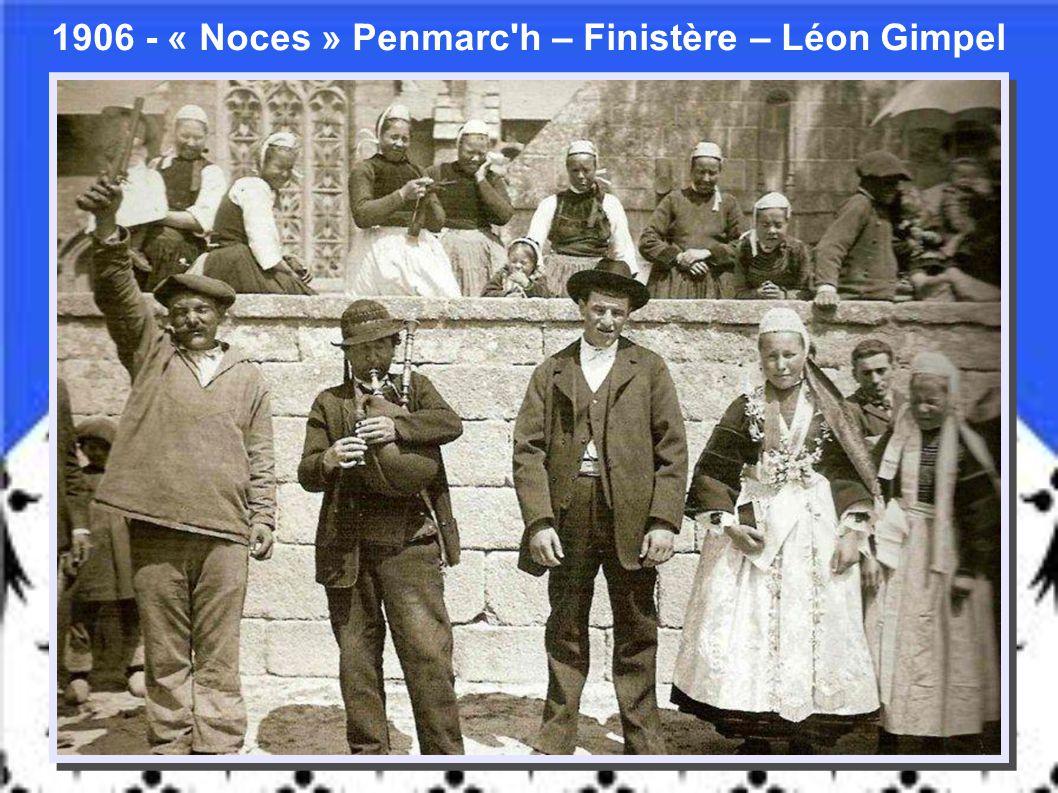1880 – « Corvée d'eau » – Roscoff – Finistère - Vickers