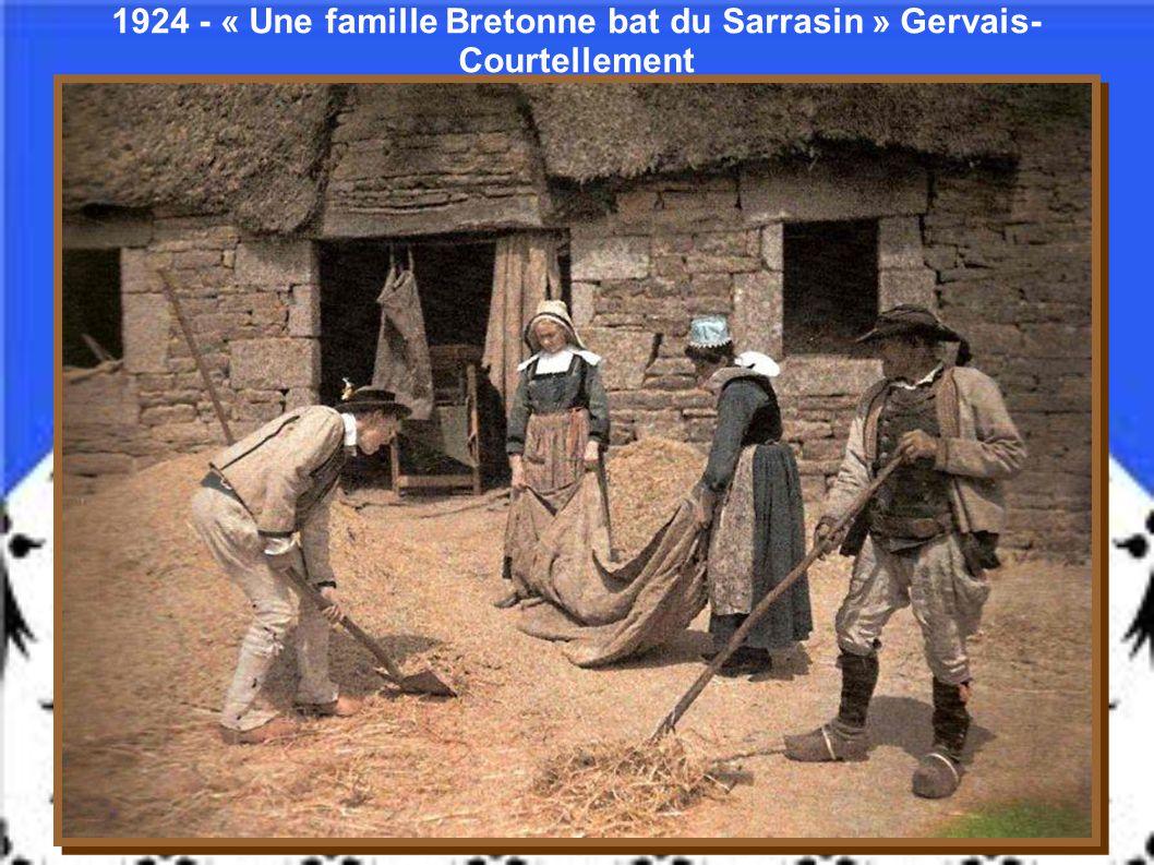 1911 – Concarneau - Finistère - Gervais- Courtellement