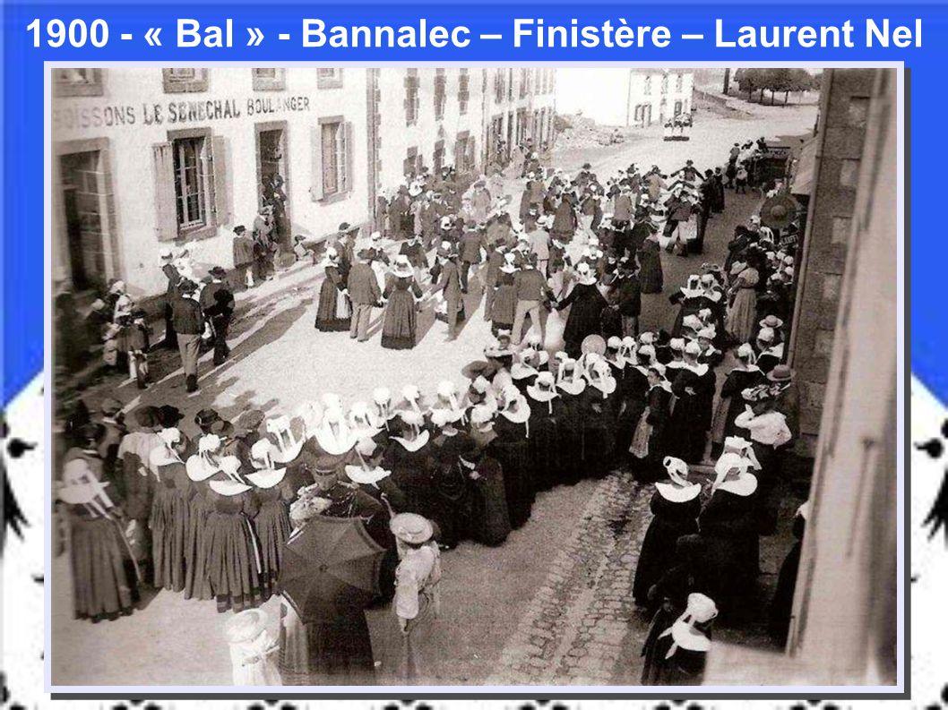 1906 – « Vacanciers de retour de la pêche » - Bréhat – Côtes-D'Armor – Le Querhic