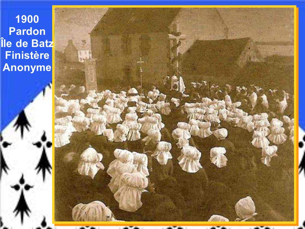 1900 - « Bal » - Bannalec – Finistère – Laurent Nel