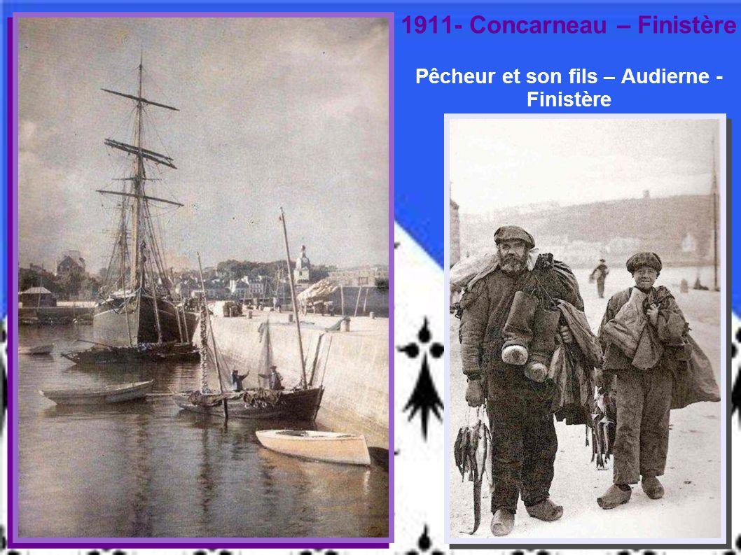 1902 - « La lessive des pêcheurs » - Concarneau – Finistère – G. Gain
