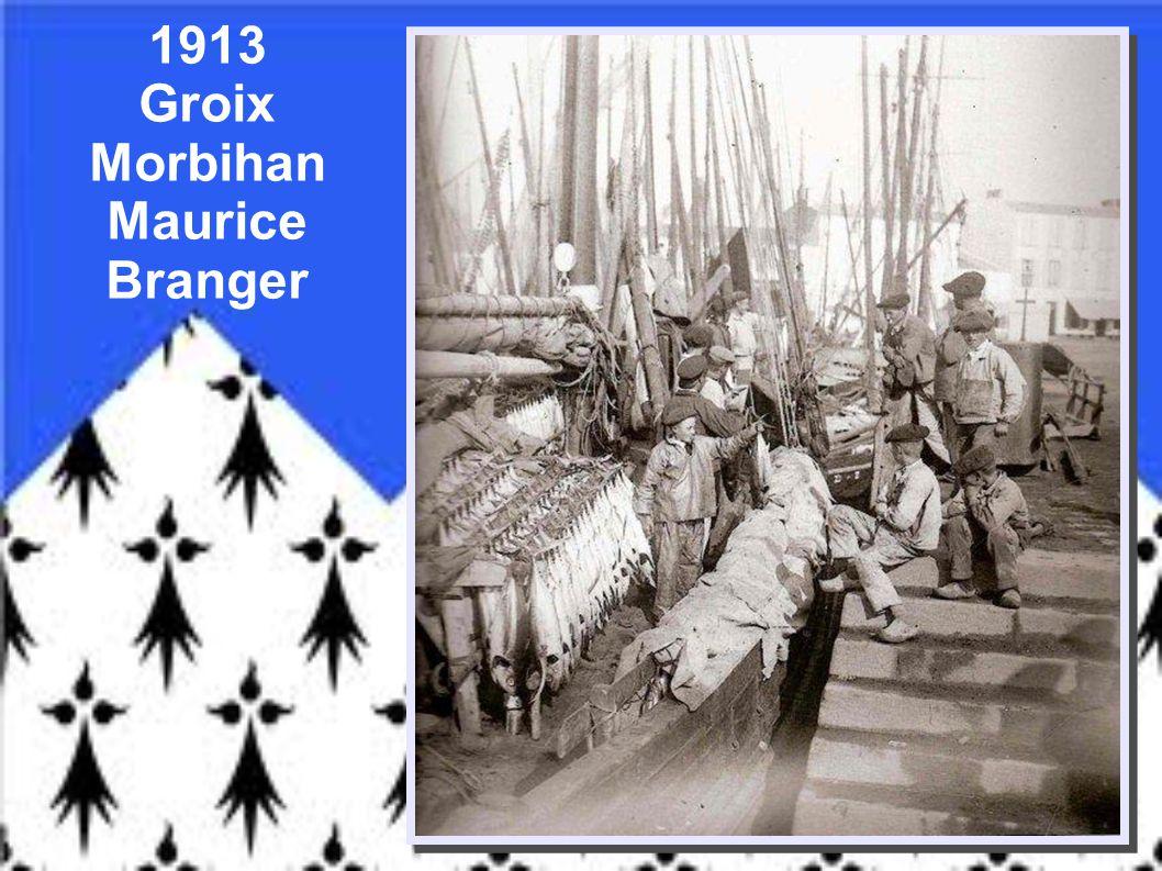 1911- Concarneau – Finistère Pêcheur et son fils – Audierne - Finistère