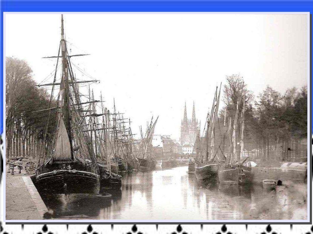 1870 – Port de Quimper –Finistère - J.Duclos