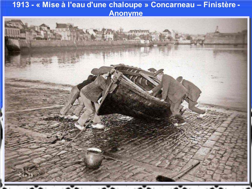« Chargement de sacs d'oignons » Roscoff – Finistère - Anonyme