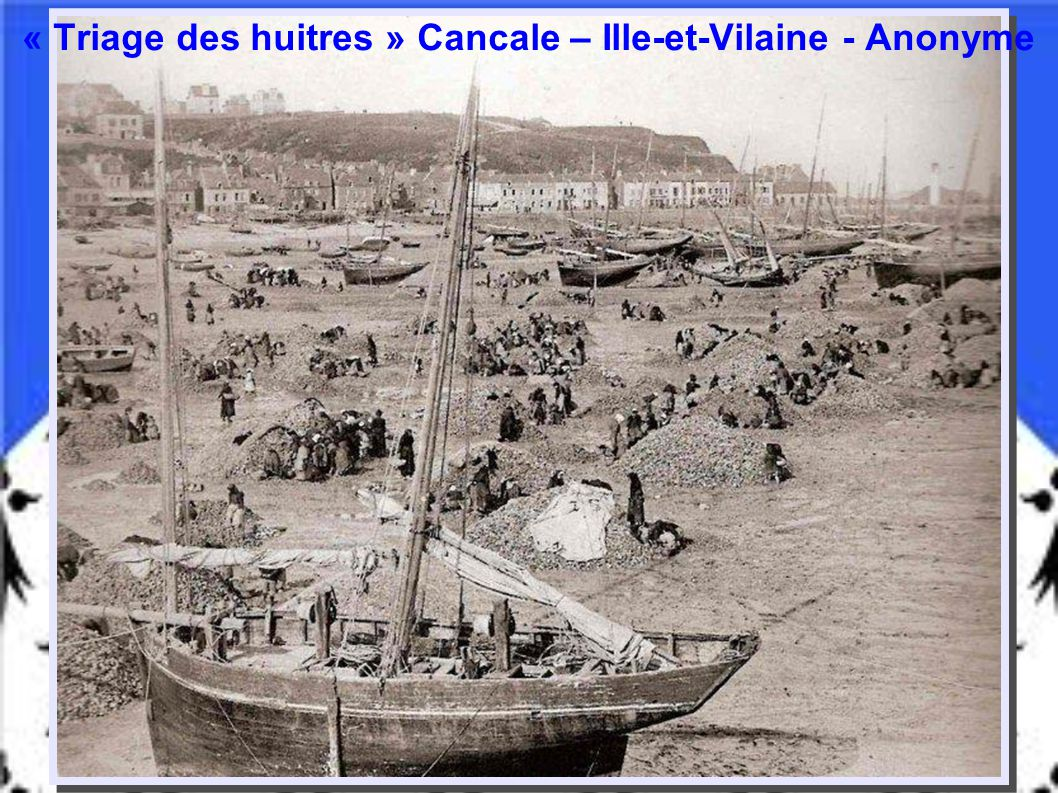 1913 - « Mise à l'eau d'une chaloupe » Concarneau – Finistère - Anonyme