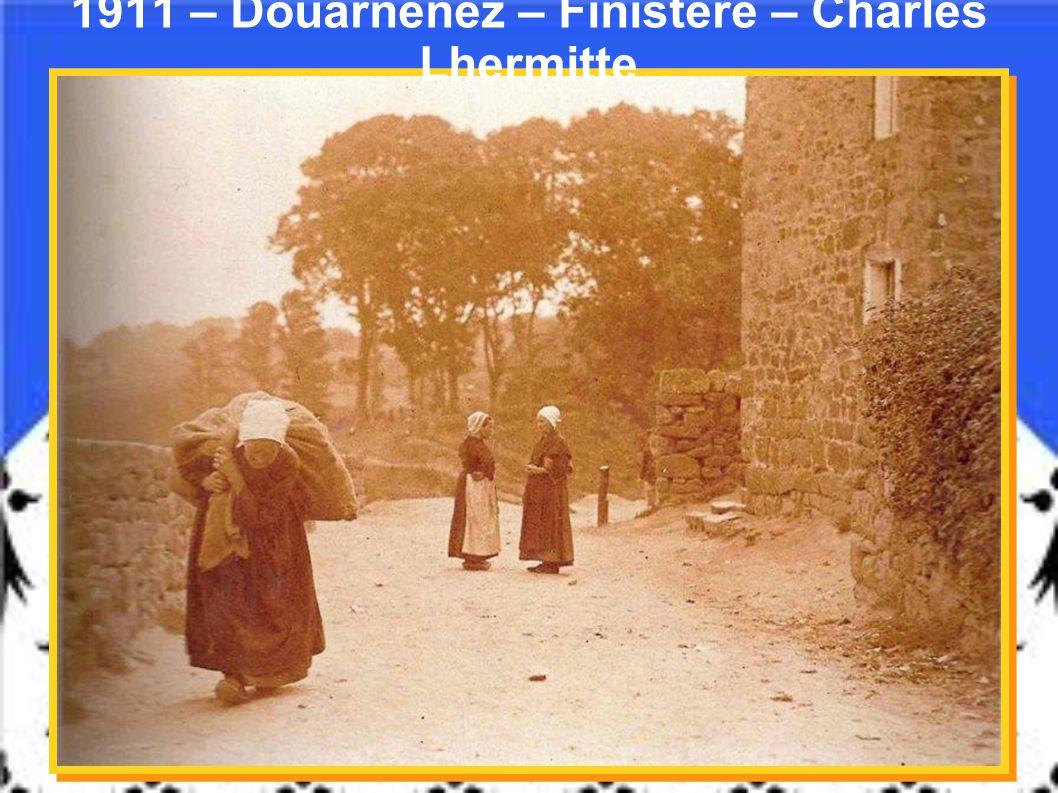 « Le ramassage des huitres à Doelan » - Clohars-Carnoët – Finistère - Anonyme