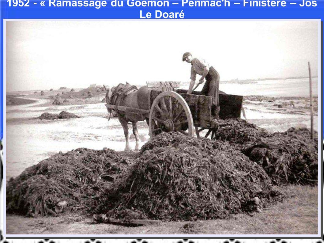 1905 Paul Gruyer débarquant au phare D'Ar Men Finistère Anonyme