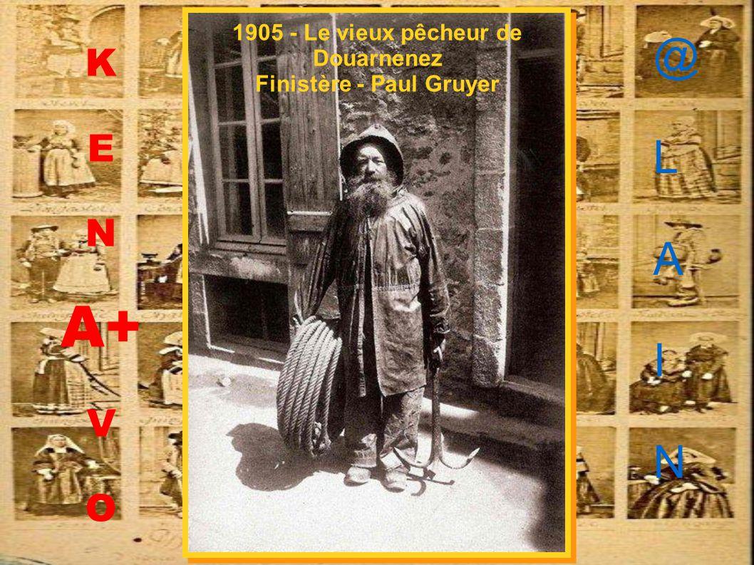 1952 - « Ramassage du Goémon – Penmac'h – Finistère – Jos Le Doaré