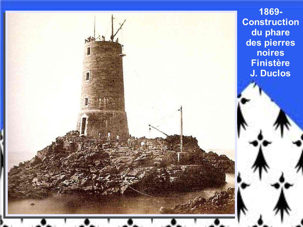 1857 - « Pêcheurs à mer basse » Roscoff Finistère Furne & Tournier