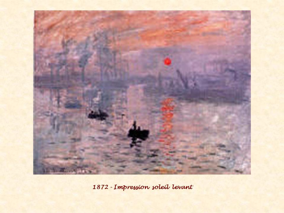 1872 - Impression soleil levant