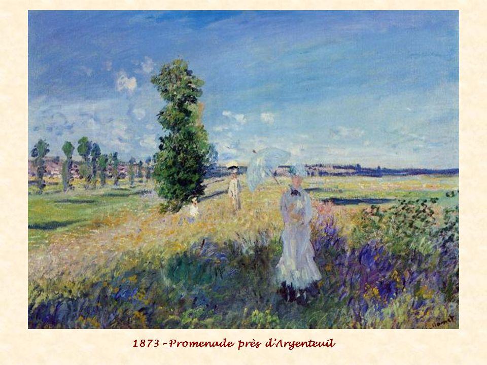 1873 – Promenade près d'Argenteuil